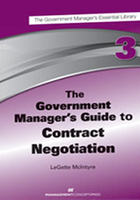 The Government Manager's Guide to  Negotiation